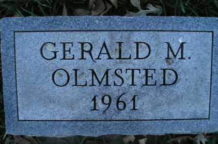 OLMSTED, GERALD M. - Miner County, South Dakota | GERALD M. OLMSTED - South Dakota Gravestone Photos