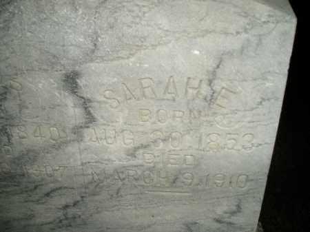 OLMSTED, SARAH E. - Miner County, South Dakota | SARAH E. OLMSTED - South Dakota Gravestone Photos