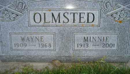 OLMSTED, WAYNE - Miner County, South Dakota | WAYNE OLMSTED - South Dakota Gravestone Photos