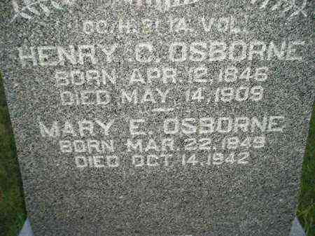 OSBORNE, MARY E. - Miner County, South Dakota | MARY E. OSBORNE - South Dakota Gravestone Photos