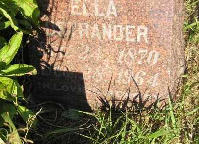 OSTRANDER, ELLA - Miner County, South Dakota   ELLA OSTRANDER - South Dakota Gravestone Photos