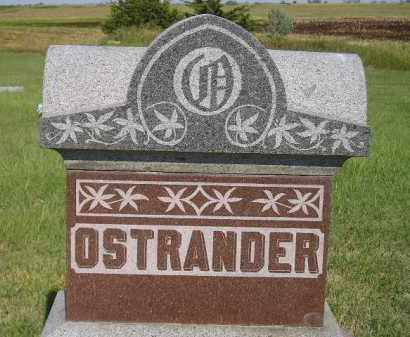 OSTRANDER, FAMILY STONE - Miner County, South Dakota | FAMILY STONE OSTRANDER - South Dakota Gravestone Photos