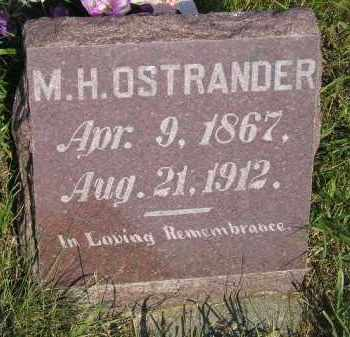 OSTRANDER, M.H. - Miner County, South Dakota | M.H. OSTRANDER - South Dakota Gravestone Photos