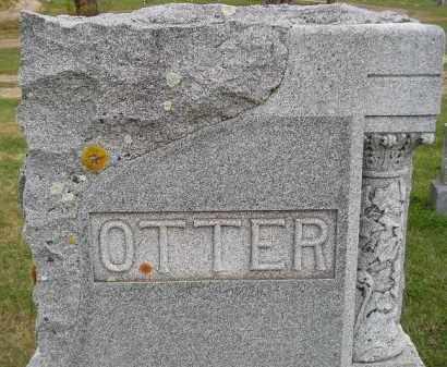 OTTER, FAMILY STONE - Miner County, South Dakota | FAMILY STONE OTTER - South Dakota Gravestone Photos