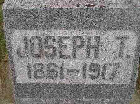 OTTER, JOSEPH T. - Miner County, South Dakota   JOSEPH T. OTTER - South Dakota Gravestone Photos