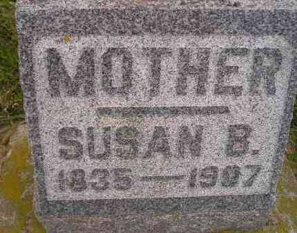 OTTER, SUSAN B. - Miner County, South Dakota | SUSAN B. OTTER - South Dakota Gravestone Photos