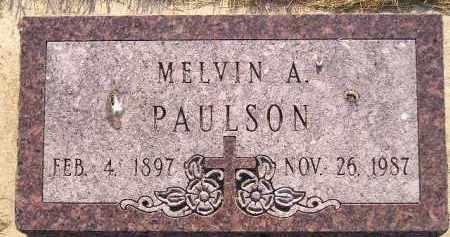 PAULSON, MELVIN A. - Miner County, South Dakota | MELVIN A. PAULSON - South Dakota Gravestone Photos