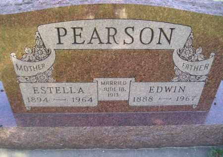 PEARSON, EDWIN - Miner County, South Dakota   EDWIN PEARSON - South Dakota Gravestone Photos