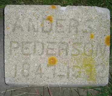 PEDERSON, ANDERS - Miner County, South Dakota | ANDERS PEDERSON - South Dakota Gravestone Photos
