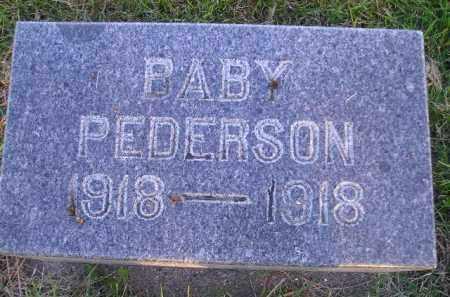 PEDERSON, BABY - Miner County, South Dakota | BABY PEDERSON - South Dakota Gravestone Photos