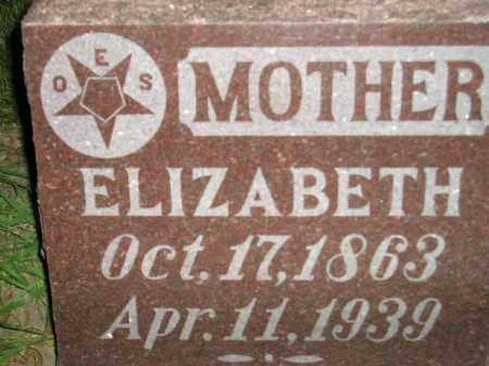 RADCLIFF, ELIZABETH - Miner County, South Dakota | ELIZABETH RADCLIFF - South Dakota Gravestone Photos
