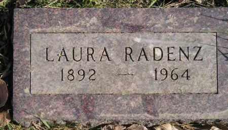 RADENZ, LAURA - Miner County, South Dakota | LAURA RADENZ - South Dakota Gravestone Photos