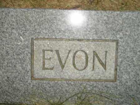 RAESLY, EVON - Miner County, South Dakota | EVON RAESLY - South Dakota Gravestone Photos