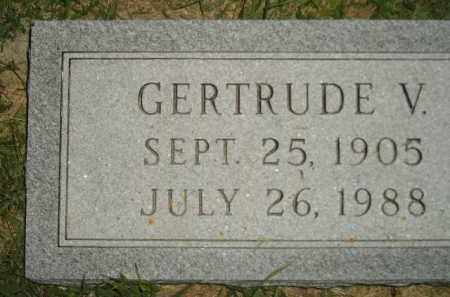 RAESLY, GERTRUDE V. - Miner County, South Dakota | GERTRUDE V. RAESLY - South Dakota Gravestone Photos