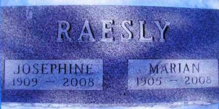RAESLY, JOSEPHINE - Miner County, South Dakota | JOSEPHINE RAESLY - South Dakota Gravestone Photos