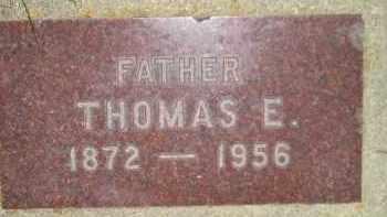 RAFFERTY, THOMAS E. - Miner County, South Dakota | THOMAS E. RAFFERTY - South Dakota Gravestone Photos