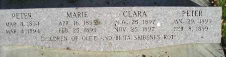 ROTI, CLARA - Miner County, South Dakota | CLARA ROTI - South Dakota Gravestone Photos