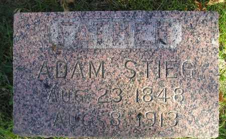 STIEG, ADAM - Miner County, South Dakota | ADAM STIEG - South Dakota Gravestone Photos