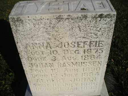 TYSTAD, ANNA JOSEFFIE - Miner County, South Dakota | ANNA JOSEFFIE TYSTAD - South Dakota Gravestone Photos