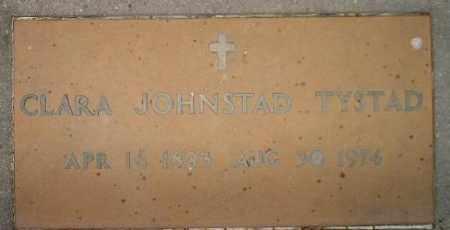 TYSTAD, CLARA - Miner County, South Dakota | CLARA TYSTAD - South Dakota Gravestone Photos