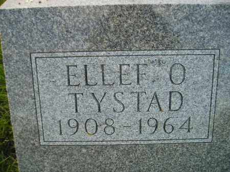 TYSTAD, ELLEF O. - Miner County, South Dakota | ELLEF O. TYSTAD - South Dakota Gravestone Photos