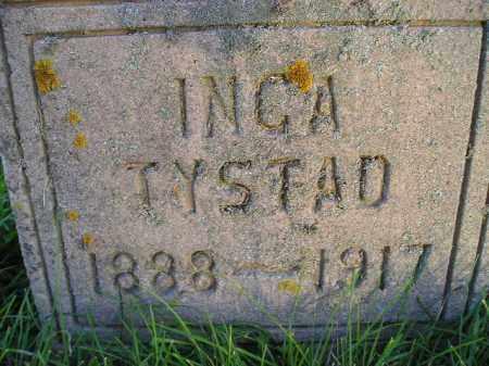 TYSTAD, INGA - Miner County, South Dakota | INGA TYSTAD - South Dakota Gravestone Photos