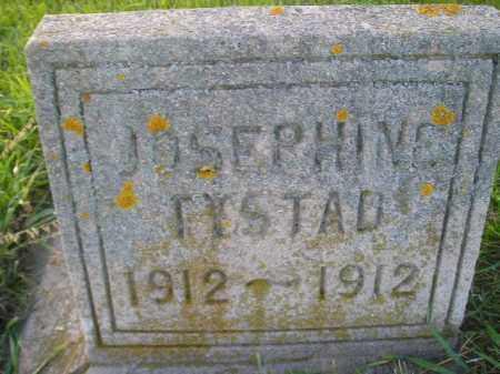 TYSTAD, JOSEPHINE - Miner County, South Dakota | JOSEPHINE TYSTAD - South Dakota Gravestone Photos