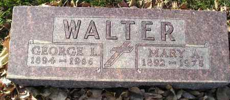 WALTER, MARY A. - Miner County, South Dakota | MARY A. WALTER - South Dakota Gravestone Photos