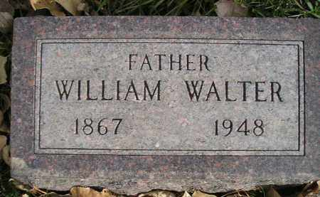 WALTER, WILLIAM - Miner County, South Dakota | WILLIAM WALTER - South Dakota Gravestone Photos