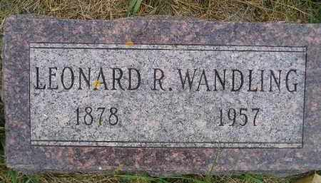 WANDLING, LEONARD R. - Miner County, South Dakota | LEONARD R. WANDLING - South Dakota Gravestone Photos