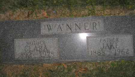 WANNER, JAKE - Miner County, South Dakota | JAKE WANNER - South Dakota Gravestone Photos