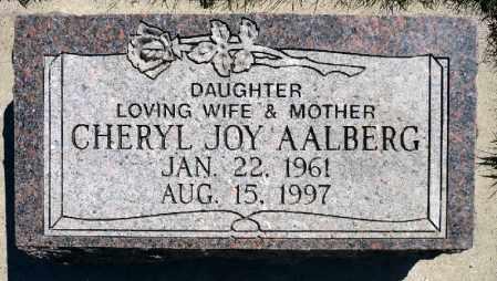 AALBERG, CHERYL JOY - Minnehaha County, South Dakota   CHERYL JOY AALBERG - South Dakota Gravestone Photos