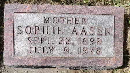 ALMLIE AASEN, RAGNA SOPHIE - Minnehaha County, South Dakota | RAGNA SOPHIE ALMLIE AASEN - South Dakota Gravestone Photos