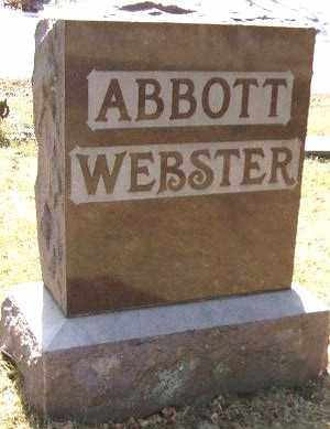 ABBOTT - WEBSTER, FAMILY STONE - Minnehaha County, South Dakota | FAMILY STONE ABBOTT - WEBSTER - South Dakota Gravestone Photos