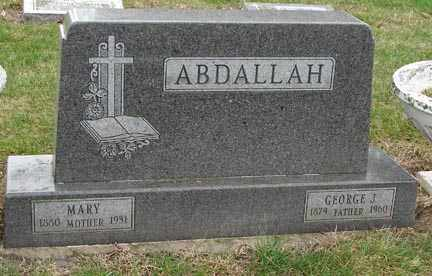 ABDALLAH, GEORGE T. - Minnehaha County, South Dakota | GEORGE T. ABDALLAH - South Dakota Gravestone Photos