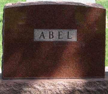 ABEL, FAMILY MARKER - Minnehaha County, South Dakota | FAMILY MARKER ABEL - South Dakota Gravestone Photos