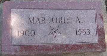 ABEL, MARJORIE A. - Minnehaha County, South Dakota | MARJORIE A. ABEL - South Dakota Gravestone Photos