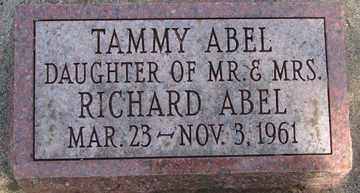 ABEL, TAMMY - Minnehaha County, South Dakota   TAMMY ABEL - South Dakota Gravestone Photos