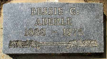 ABERLE, BESSIE - Minnehaha County, South Dakota | BESSIE ABERLE - South Dakota Gravestone Photos