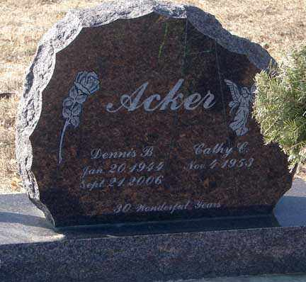 ACKER, CATHY - Minnehaha County, South Dakota | CATHY ACKER - South Dakota Gravestone Photos