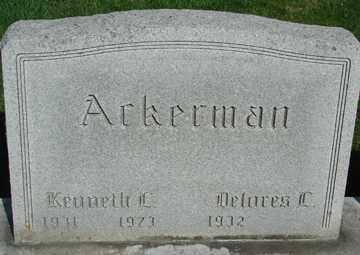 ACKERMAN, DELORES - Minnehaha County, South Dakota   DELORES ACKERMAN - South Dakota Gravestone Photos