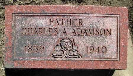 ADAMSON, CHARLES A. - Minnehaha County, South Dakota | CHARLES A. ADAMSON - South Dakota Gravestone Photos