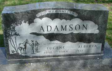 ADAMSON, ALBERTA - Minnehaha County, South Dakota | ALBERTA ADAMSON - South Dakota Gravestone Photos