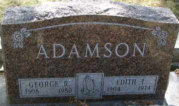 ADAMSON, EDITH I. - Minnehaha County, South Dakota | EDITH I. ADAMSON - South Dakota Gravestone Photos