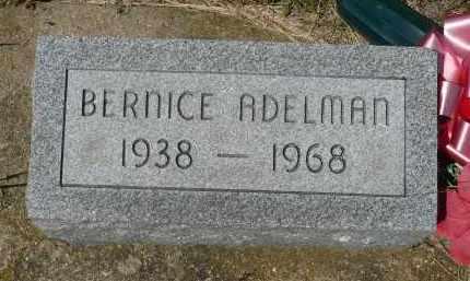 ADELMAN, BERNICE - Minnehaha County, South Dakota   BERNICE ADELMAN - South Dakota Gravestone Photos