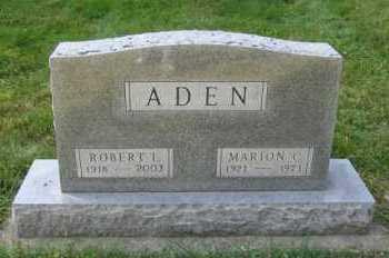 ADEN, MARION C. - Minnehaha County, South Dakota   MARION C. ADEN - South Dakota Gravestone Photos