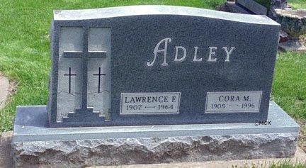 ADLEY, LAWRENCE - Minnehaha County, South Dakota | LAWRENCE ADLEY - South Dakota Gravestone Photos