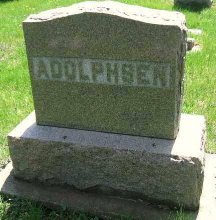 ADOLPHSEN, FAMILY STONE - Minnehaha County, South Dakota | FAMILY STONE ADOLPHSEN - South Dakota Gravestone Photos