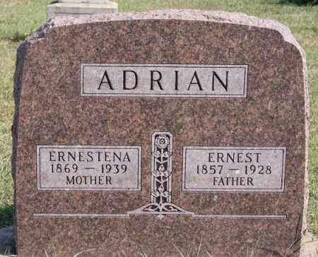 ADRIAN, ERNEST - Minnehaha County, South Dakota | ERNEST ADRIAN - South Dakota Gravestone Photos