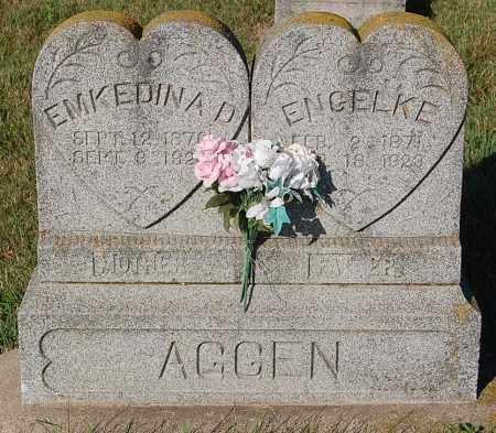AGGEN, EMKEDINA D. - Minnehaha County, South Dakota | EMKEDINA D. AGGEN - South Dakota Gravestone Photos
